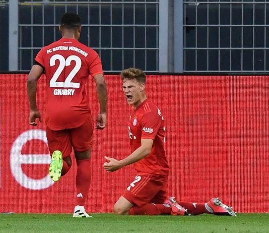 Bayern Munich Bungkam Dortmund, Kimmich Cetak Gol Indah Semata Wayang
