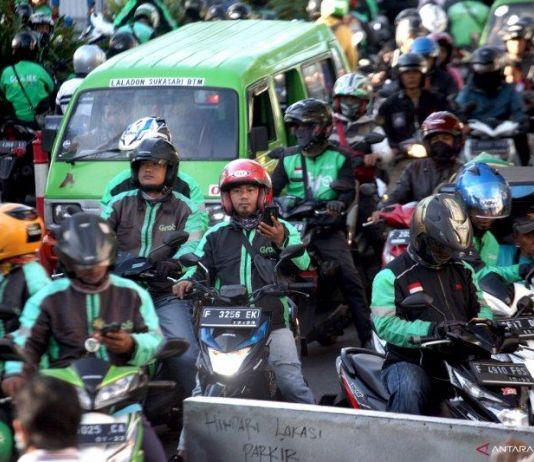Mulai Hari Ini Ojol Boleh Bawa Penumpang di Kabupaten Bogor
