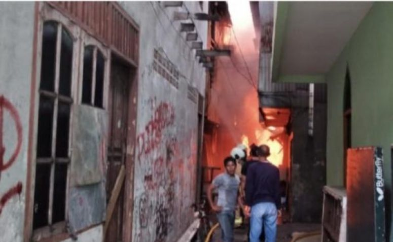 Ternyata Ini Penyebab Kebakaran di Rawa Mangun yang Hanguskan Puluhan Rumah