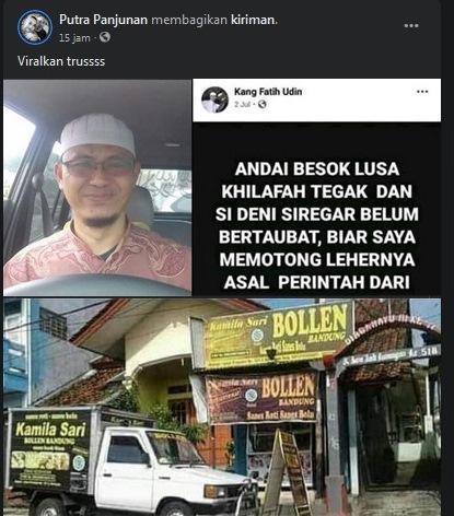 Akun Kang Fatih Udin viral di sosial media