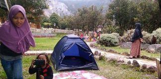 Nikmatnya Camping di Papandayan Tanpa Paparan  COVID-19