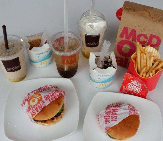 McD Hadirkan Makanan Khas Nusantara