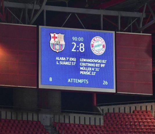 Bayern Bantai Barca, Ini Skor Tertinggi di Liga Champions Sepanjang Masa