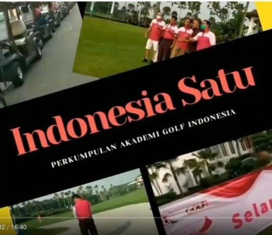 Seru! Golf 'Indonesia Satu' Peringati Hari Sumpah Pemuda