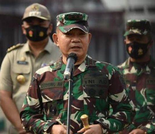 Pangdam Jaya Ungkap Cara Prajurit TNI Bubarkan Massa Aksi Tolak UU Cipta Kerja