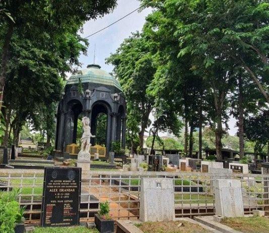 Ada Vandalisme dan Aksi Maksiat di Mausoleum OG Khouw Petamburan
