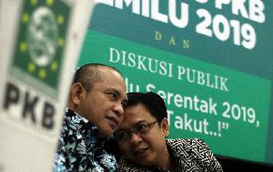 Diskusi dan Peresmian Bacaleg PKB 2019