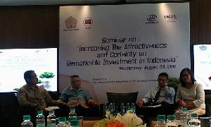 Seminar 'Increasing The Attractiveness and Certainy on Remarkable Investment in Indonesia'