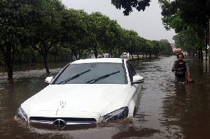 Banjir di Sektor IX Bintaro
