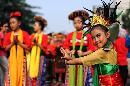 Ribuan Orang 'Flashmob' Tunjukkan Indonesiamu