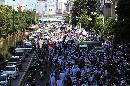 Massa GNPF MUI Datangi Pengadilan Negeri Jakarta Utara