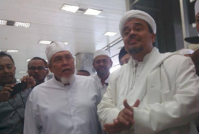Habib Rizieq Minta Penyidik Pelajari Tesis Sejarah Pancasila