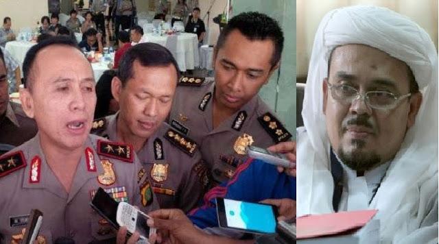 Rizieq Syihab <i>versus</i> Kapolda Metro Jaya soal Uang PKI