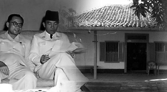 Hasil gambar untuk rumah soekarno di rengasdengklok
