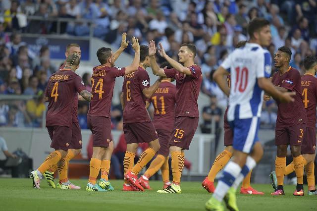 Prediksi Roma Vs Porto: 10 Pemain Roma Sukses Imbangi Porto