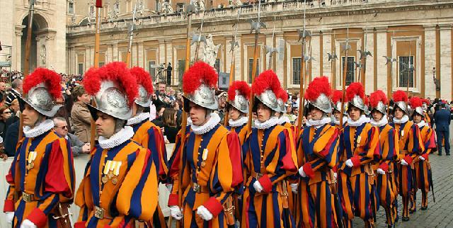 Garda Swiss Pasukan Pengawal Takhta Suci
