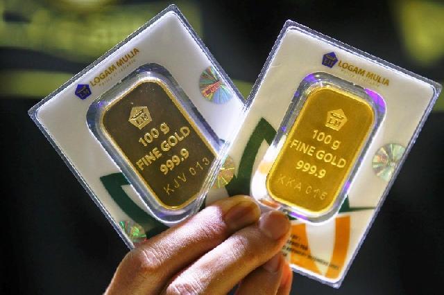 Harga Emas Turun Rp 3000 jadi Rp599.000 Per Gram