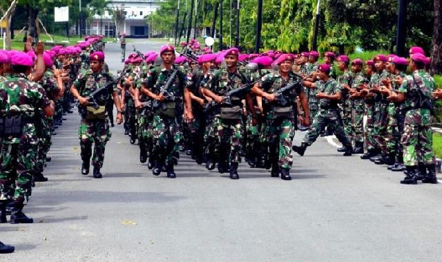Lantamal IX Ambon Kirim Personel ke Perbatasan Timor Leste