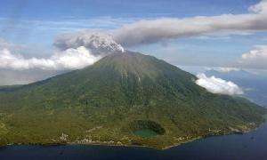 Status Gunung Gamalama Masih Waspada, Wisatawan Dilarang Mendaki