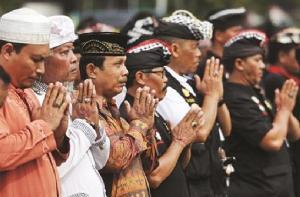 Ormas Lintas Agama di Bali Satukan Tekad Tolak FPI