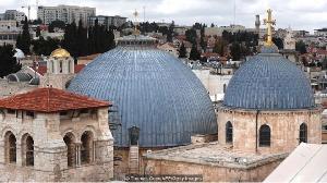 Ini Kisah Dua Keluarga Muslim, Penjaga Pintu Gereja Yerusalem