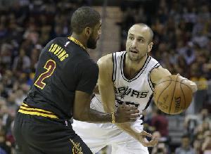 Spurs Pecundangi Cavaliers