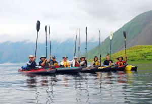 'Muara Kayak Marathon 2017 Bakal Diselenggarakan di Danau Toba