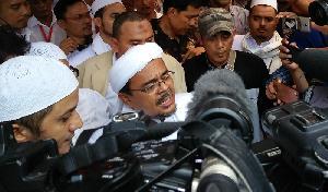 Habib Rizieq Merasa Dikriminalisasi